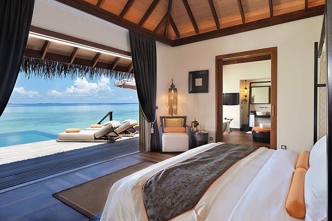 Luksusowy hotel na Malediwach