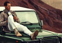 Safari moda męska