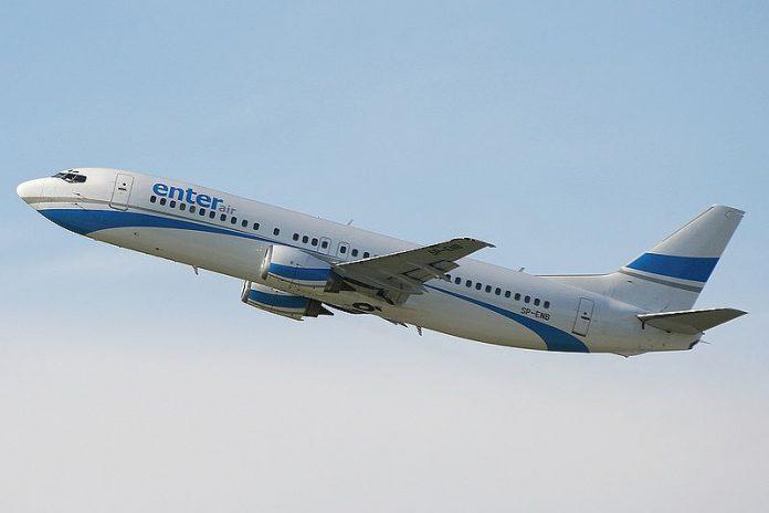 Ponad milion euro kary dla Enter Air