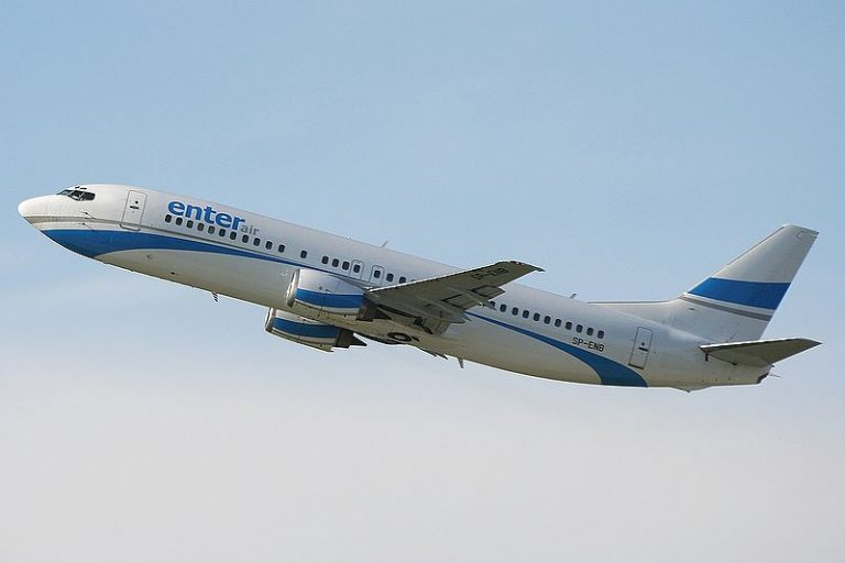 Ponad milion euro kary dla linii lotniczej Enter Air