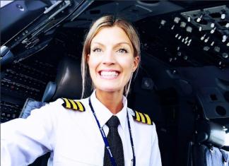 Maria Pettersson - kobieta pilotem samolotu