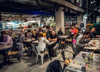 Hala Koszyki - restauracje i opinie