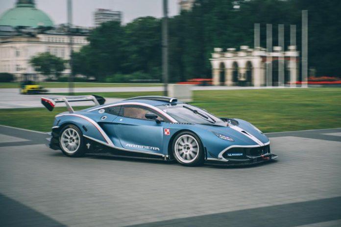 Polski samochód wyścigowy
