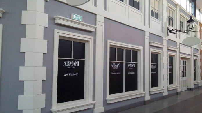 Armani outlet w Polsce