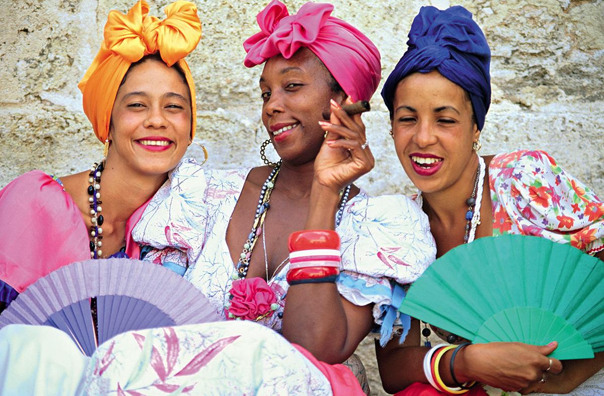 Tak się ubierają kobiety na Kubie