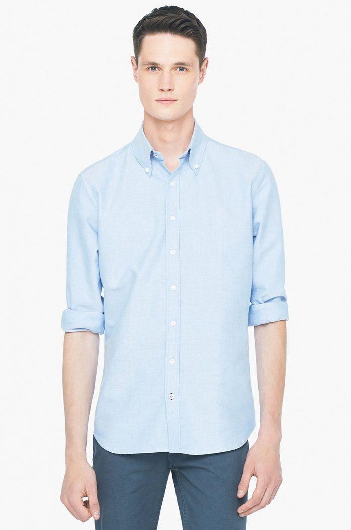 Koszula z bawełny oxford