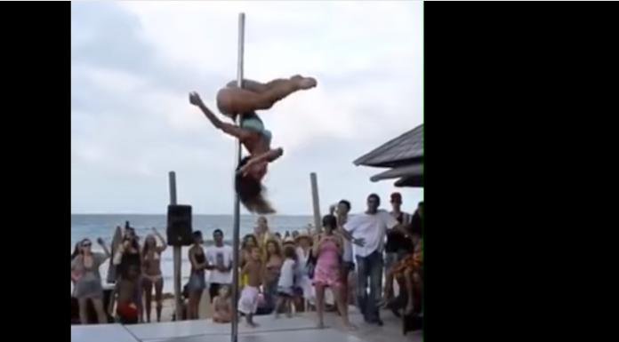 Występ Pole Dance