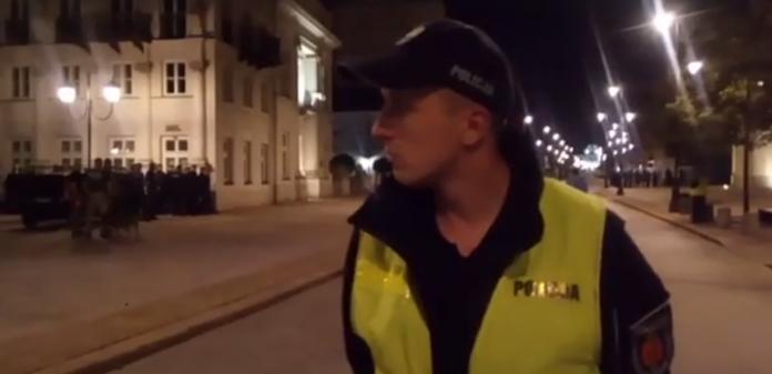 Blokada Krakowskiego Przedmieścia