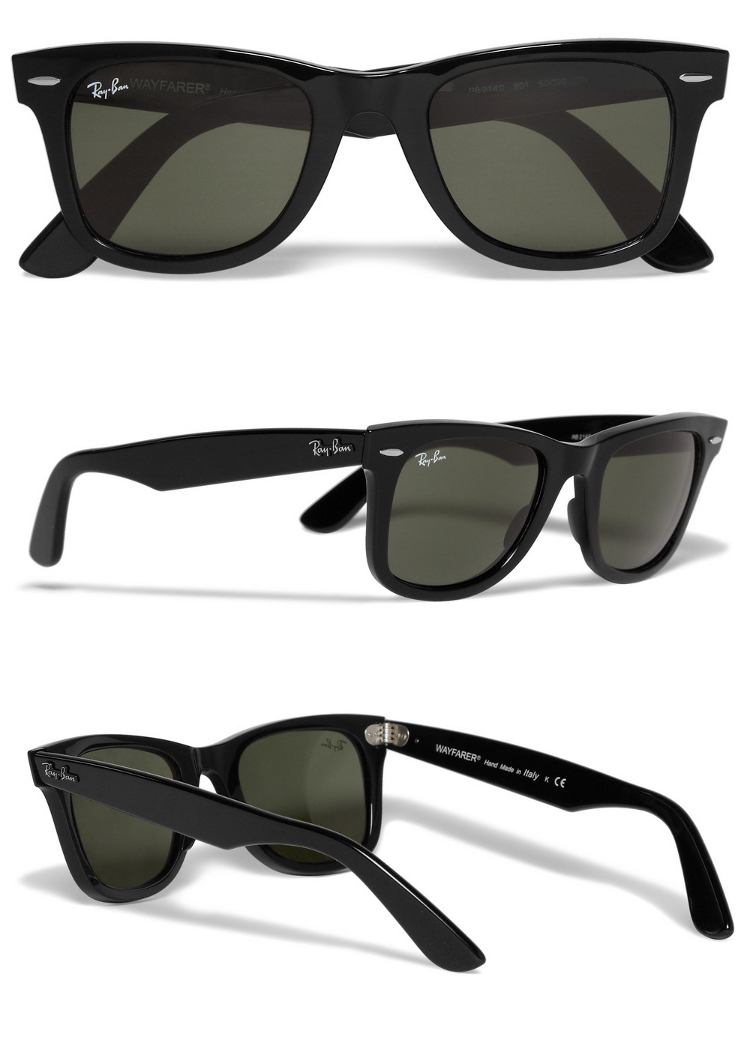 Wayfarer okulary