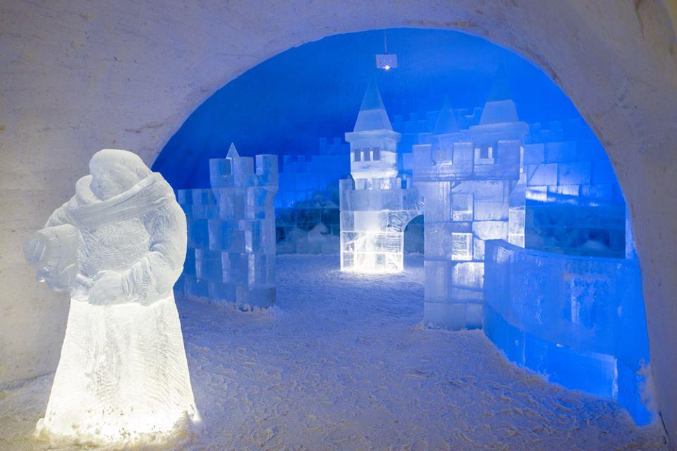 Zamek śnieżny w Kemi