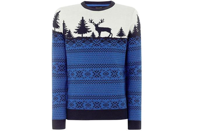 Sweter w renifery
