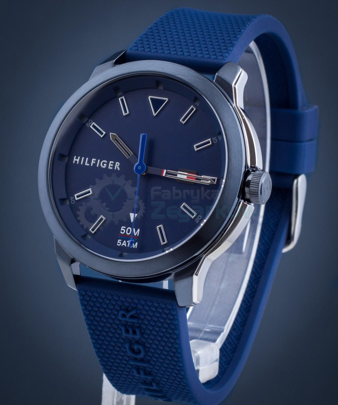 Zegarek męski niebieski