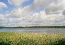 Jezioro, gdzie po raz ostatni widziany był Piotr Woźniak-Starak