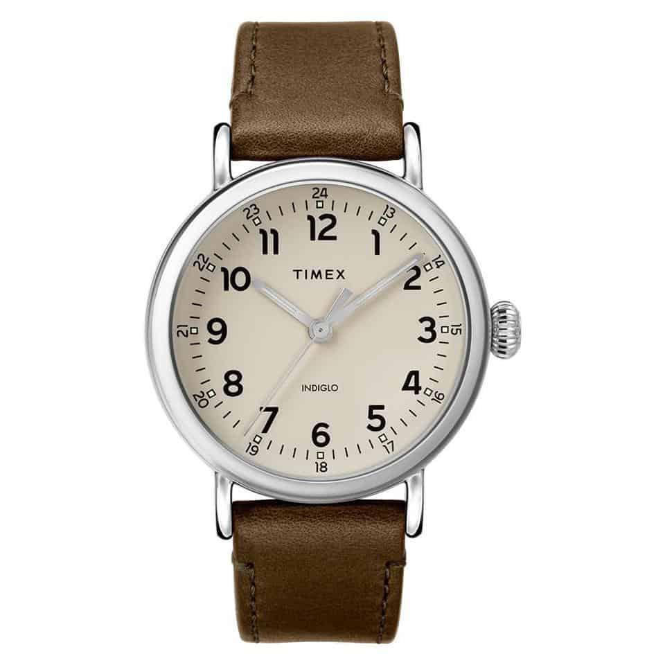 Zegarek Timex beżowa tarcza