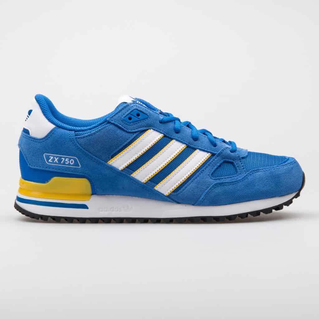 Adidas ZX niebieskie