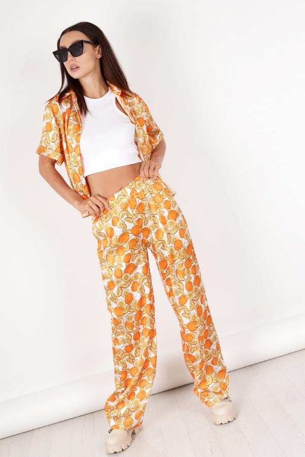 Luźne spodnie damskie